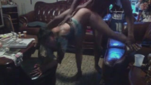 Wild black woman shakes her ass while getting the hardest backshots of her life